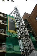 AlimakHek temporary lifts for Tower Hamlets Homes