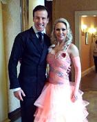 Strictly Come Dancing stars Anton Du Beke and Kristina Rihanoff